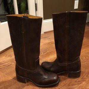 Frye Campus boots 7 medium brown